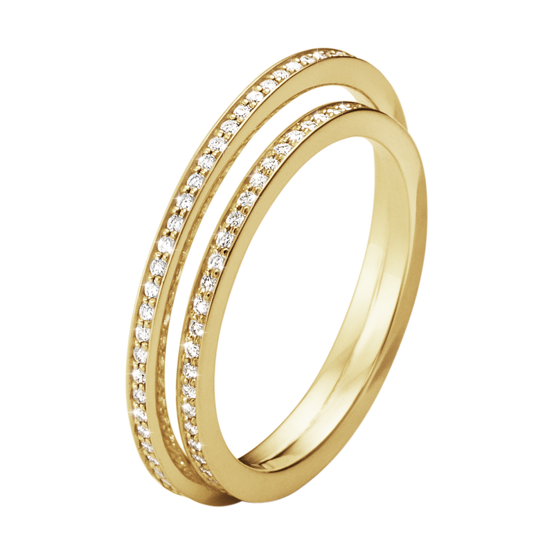 HALO RING – 18 K GULD MED BRILJANTER – August Petersson   Son AB aacee6bd46e90